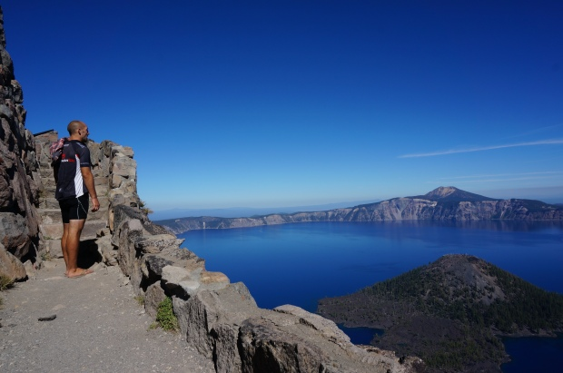 Crater Lake Watchtower on Oregon Bike Tour