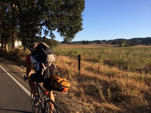 Portland area farmland riding in Yamhill County