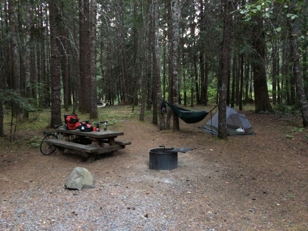 Toketee Lake Campground via bike tour
