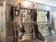 New Amtrak Bike Storage for Long-Distance Trains
