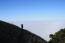 Backpacking above the fog in Big Sur Vincente Flat Trail Independent Travel Planner