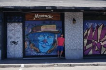 Street Art in Santiago Chile ITP Travel Report Bella Vista Neighborhood